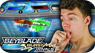 NEW Beyblade Burst RIVALS GAME!!!    New Mobile Game    Gameplay Part 1
