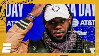 LeBron James 2020 NBA All-Star Media Day Interview | NBA on ESPN