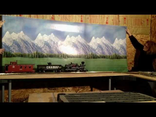 Garden Trains: #002 : Building an Indoor Large Scale Railroad : Freebie Railroad