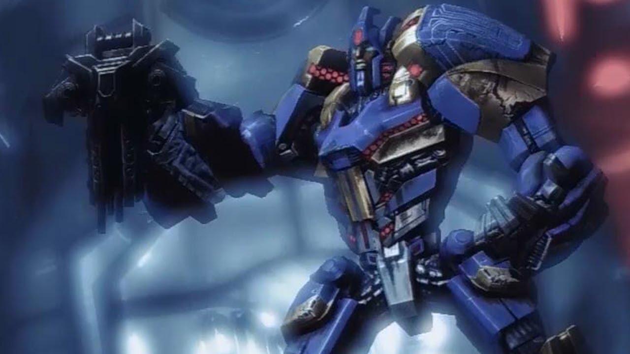 Zeta Prime g1 Megatron vs Zeta Prime Battle