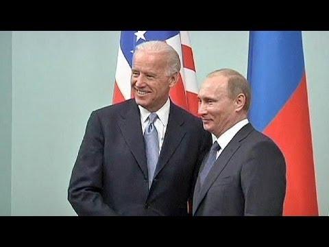 Biden announces Kyiv visit as war of words continues over Ukraine