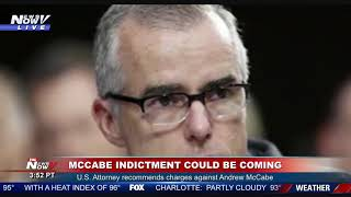 MCCABE INDICTMENT COMING: Former FBI Director Andrew McCabe - BREAKING