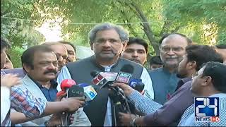 PML-N Leaders Media Talk