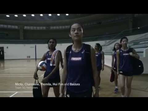Your Voice Changes the Game – Team Singapore Netball Team