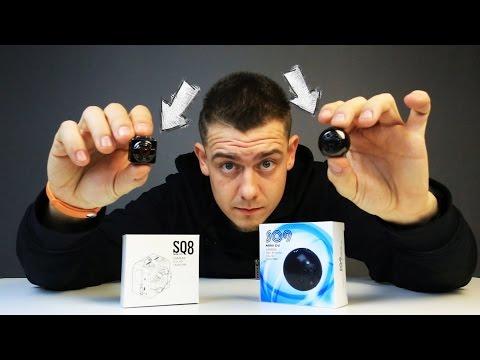 Мини камеры SQ8 vs SQ9 Какая лучше?