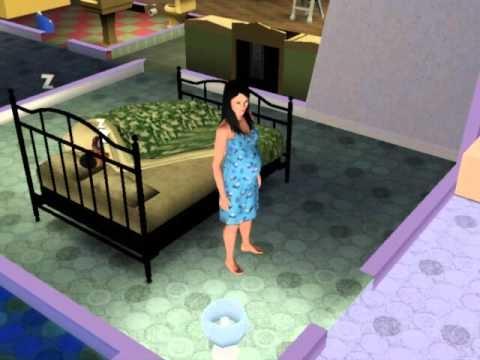 Tendo um beb em casa no the sims 3 youtube for Sims 3 chambre bebe