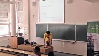 Barcamp Hradec Králové 2017 - Roman Mařák: 100 km/h s quadrocoptérou za 5000,- Kč