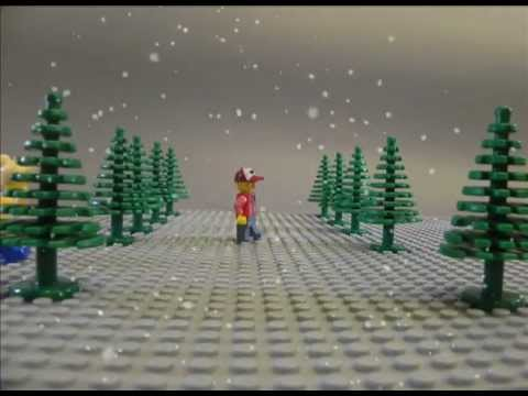 Dan's Brick Film Test  Scene 1- Christmas e-card