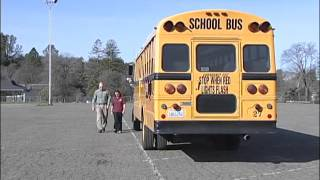 Tail Swing Safety for School Bus Drivers
