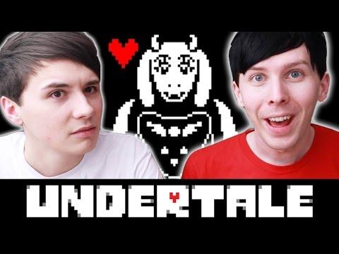 Dan and Phil play UNDERTALE!
