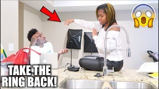 I MISS BEING SINGLE PRANK ON BOYFRIEND *HE LET ME GO*‼️ Tay&Jass