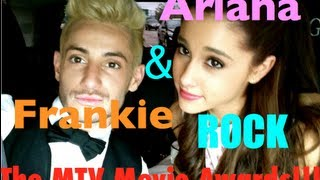 Ariana Grande & Frankie Grande ROCK the MTV Movie Awards!