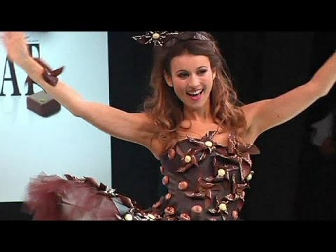 Chocolate fashion show in France - no comment