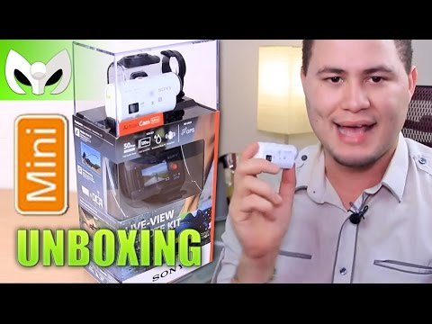 Unboxing Sony Action Cam MINI (1080p) VISOR (ESPA�OL)