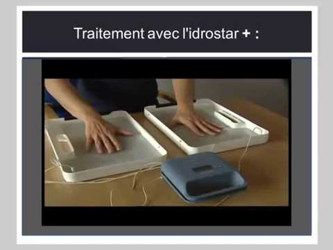 idrostar traitement de la transpiration excessive youtube. Black Bedroom Furniture Sets. Home Design Ideas