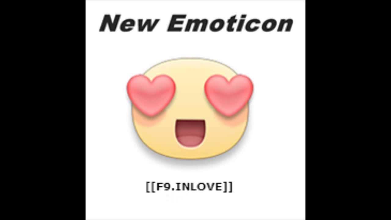 Facebook Emoticon No.1 Heart eyes - YouTube