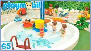 PLAYMOBIL 65 • Las VACACIONES de la FAMILIA Playmobil 🏊✈ Una nueva AMIGA 💕