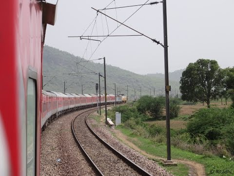 Trivandrum Rajdhani Express High Speed Blast: Delhi-Surat Compilation