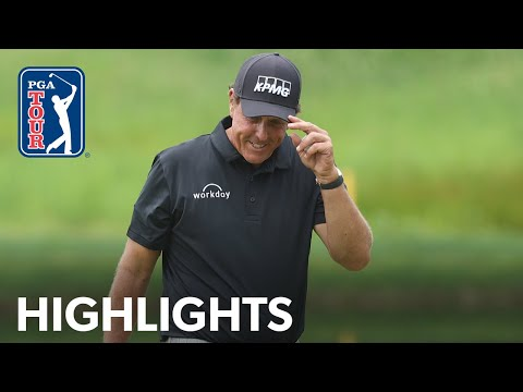 Phil Mickelson shoots 6-under 64 | Round 1 | Travelers Championship 2020