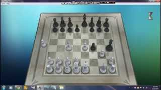How to win chess titans level 10 windows 7 in 7 steps only