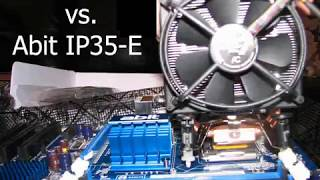 Freezer 7 Pro vs. Abit IP35-E