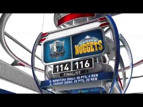 Dallas Mavericks vs Denver Nuggets - March 6, 2016