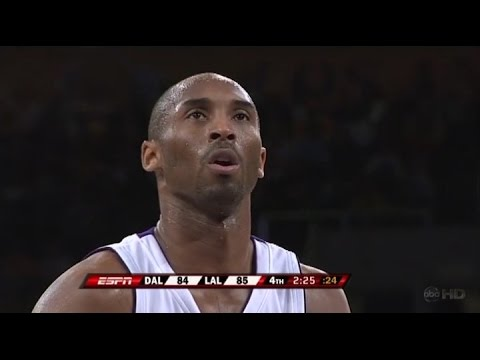 Kobe Bryant Full Highlights Vs Dallas Mavericks 2008.03.02 - 52 Pts (30 In 4th + Ot), 11 Rebs video