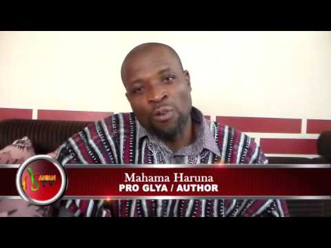 Mahama Haruna Speaking On His Two Books On The Gonja Kingdom