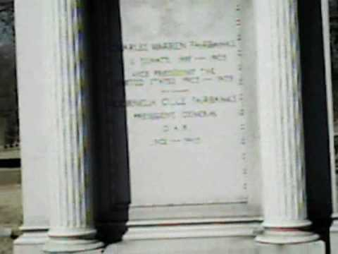 Video of the Gravesite of Charles W. Fairbanks