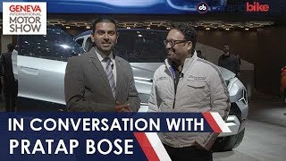 In Conversation With Pratap Bose, VP, Global Design, Tata Motors | NDTV carandbike