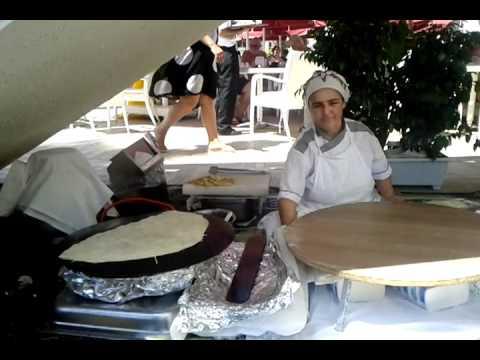Mahjouba Turc viande hachée, persil et fromage