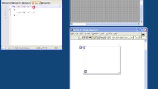Labview tutorial for C programmers #4 - For and while loops