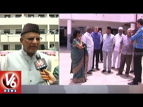 Minority Commission Chairman Mohammed Qamaruddin Visits Parsi High School | V6 News