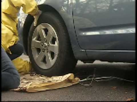 How to install cable tire chains - tips from Oregon DOT