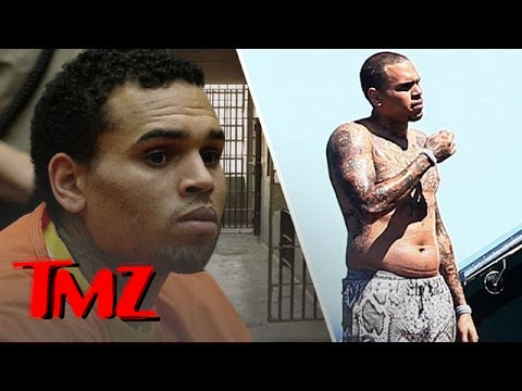Chris Brown Is A Bit Heavier After Being In Jail.