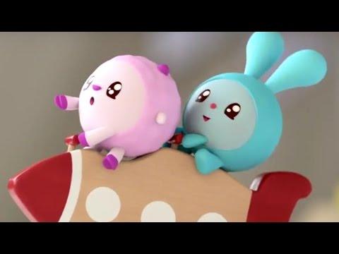 Малышарики - 4 серия - Ракета - обучающие мультфильмы для малышей 0-4