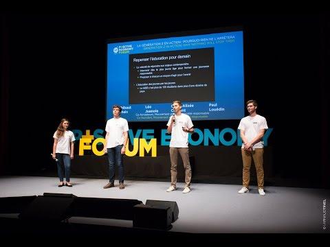 T Chaix - L Juanole - C A Clément - P Louédin - Positive Economy Forum - Le Havre 2015 - Français