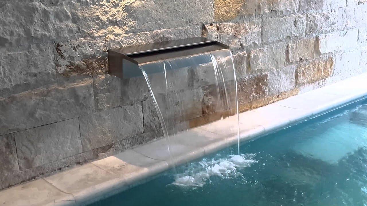 Cascada cortina de agua youtube for Motor para cascada de agua
