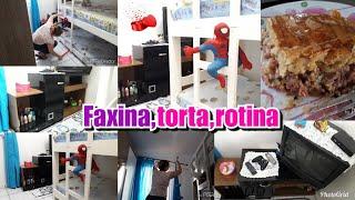 FAXINA,TORTA,ROTINA 🌺🌺