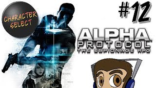 Alpha Protocol Part 12 - A Lot of Hate For Marburg - CharacterSelect
