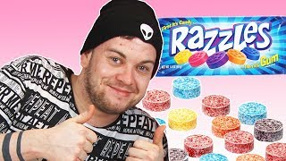 Irish People Try Razzles For The First Time