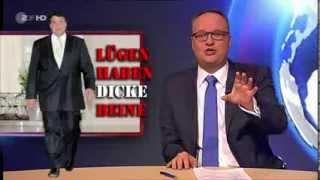 """ZDF """"Heute Show"""" über Freihandelsabkommen (TTIP); Gen-Mais; ..."""