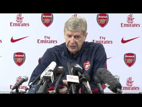 Arsene Wenger press conference pre Manchester City vs Arsenal