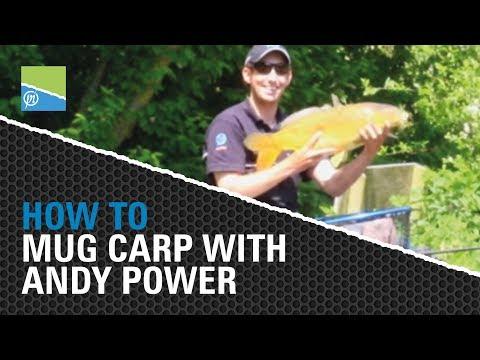How To  Mug Carp with Preston Innovations star Andy Power