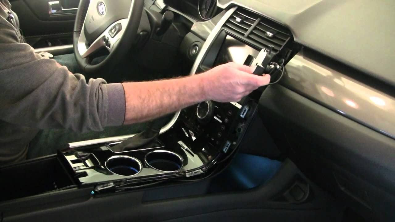 ProClip / PanaVise In-Dash Phone Mount Install - Ford Edge ...