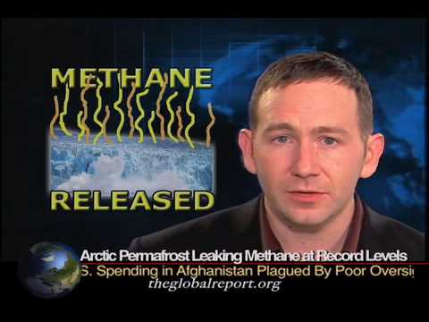 Arctic Permafrost Leaking Methane at Record Levels