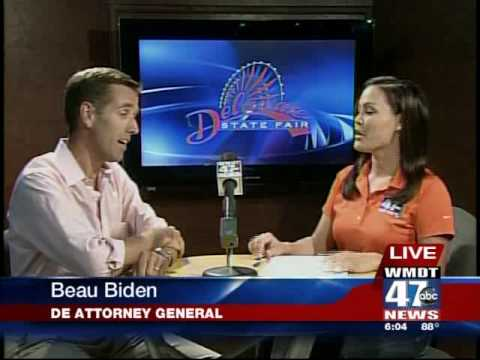 WMDT's Stacy Sakai interviews DE Attorney General Beau Biden