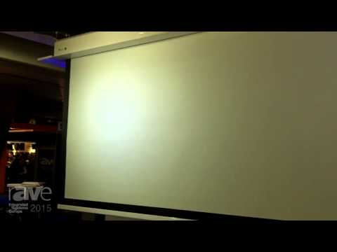 ISE 2015: Viz-Art Describes the Electric Masked Screen