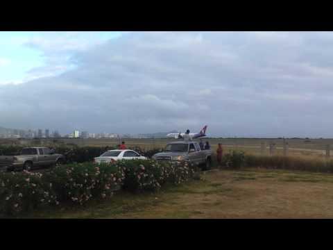 Honolulu international airport emergency landing