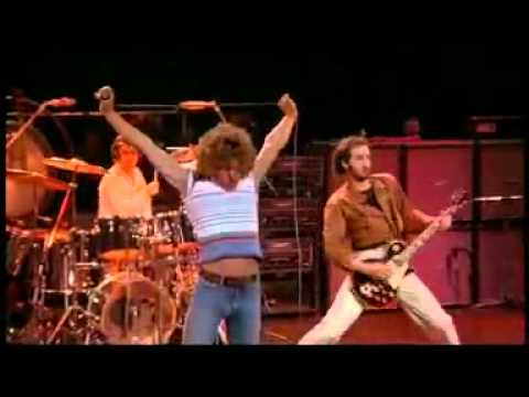 The Who- Baba O'Riley1971 Official Video Video [HQ]